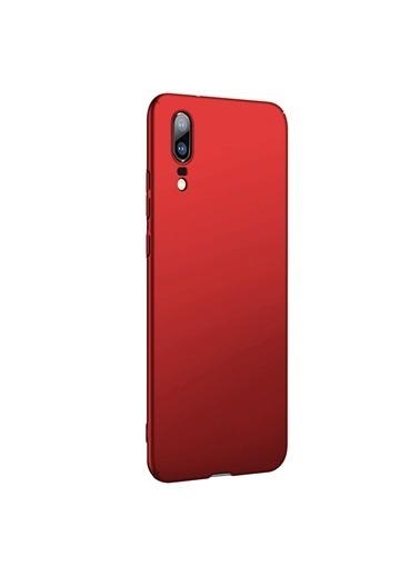Microsonic Huawei P20 Kılıf Premium Slim Kırmızı Kırmızı